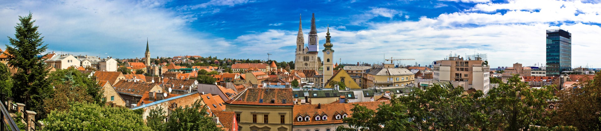 Vue panoramique de la vieille ville