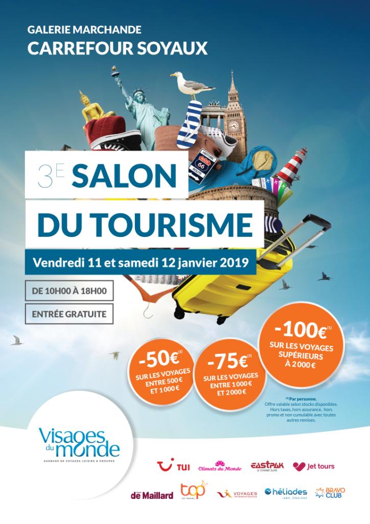 3e Salon du Tourisme Saoyaux - Vendredi 11 et Samedi 12 Février 2019