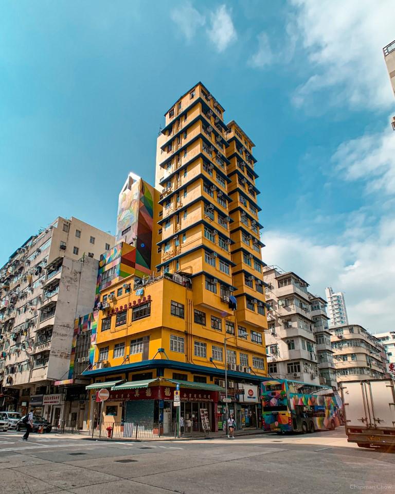 Corner building (Sham Shui Po)