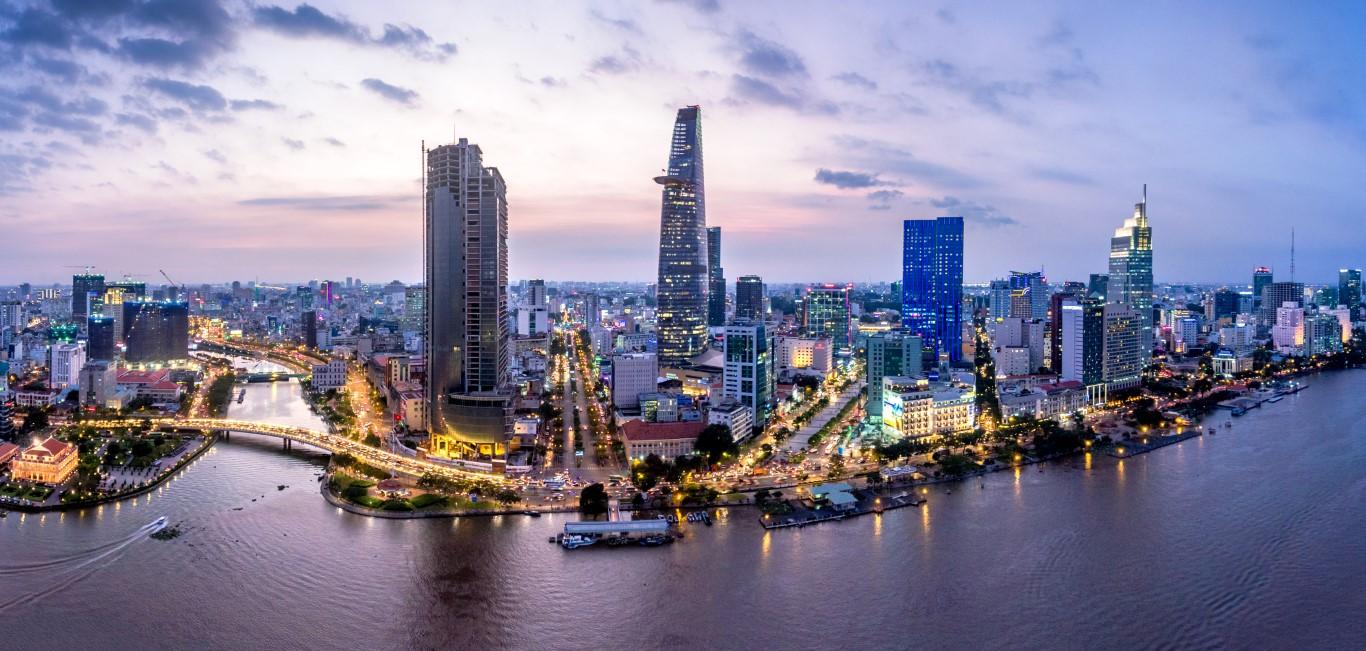 Ho Chi Minh - Skyline