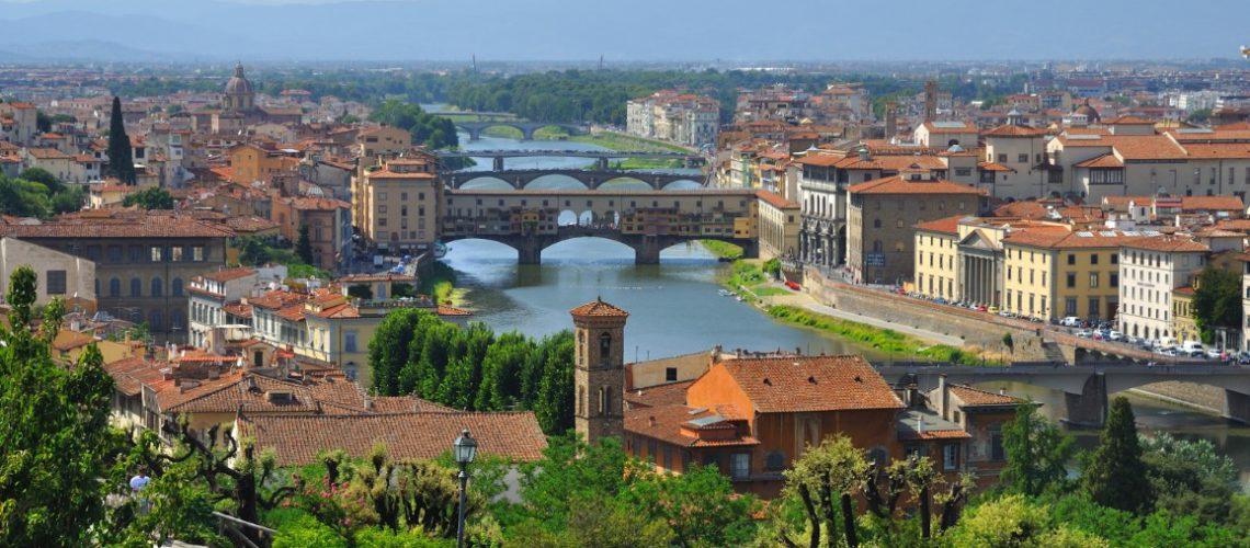 Ville de Florence, Italie.