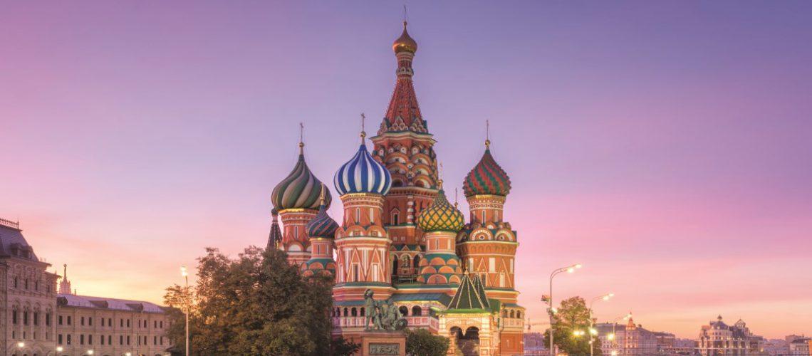 Cathédrale St Basil - Moscou